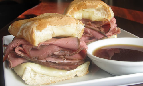 Quick French Dip Sandwich