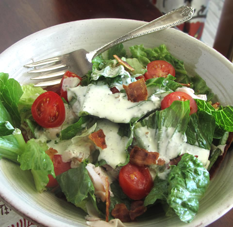 simple salad dressing recipes - ranch
