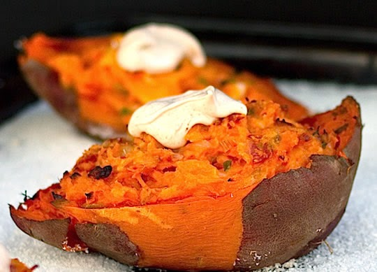 7 Roasted Sweet Potato Recipes