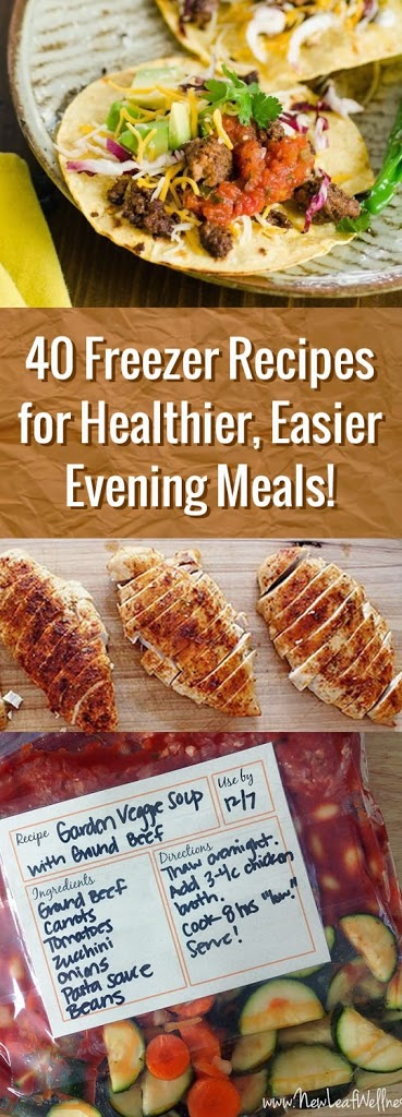 Mealprep: freezer recipes