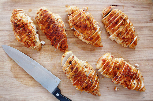 Mealprep: chicken breasts
