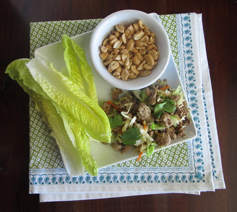 Paleo / Whole30 recipes: Asian lettuce wraps