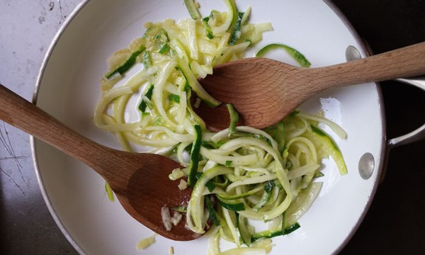 easy side dish: zoodles