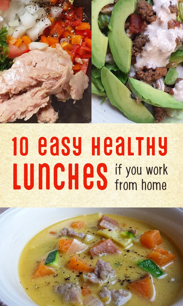 10 easy healthy lunches