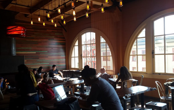 places to eat in Seattle: storyville coffee