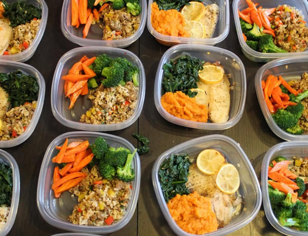 #mealprep - lunches