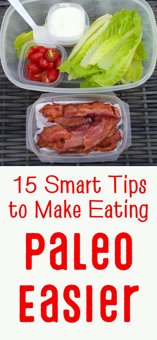 Tips to make eating Paleo easier