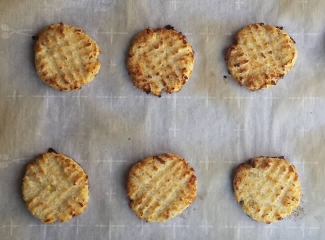 coconut cookie recipe - perfectly done!