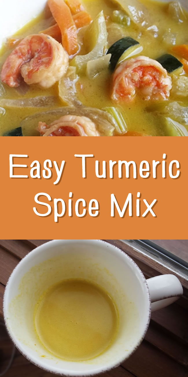 ginger turmeric cinnamon spice mix recipe